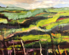 'Slad Valley' mixed media 90x80cm