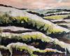 'Snow on Swift's Hill' mixed media 80x60cm